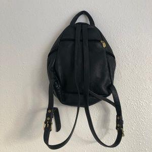 Vintage Bags - Vintage Libaire Genuine Leather Mini Bag Backpack
